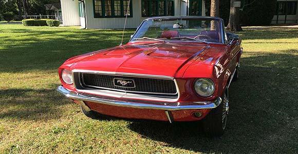 Fahrzeug 2 Mustang-1968 in München: Bild 6 in der Bilderstrecke: Vorderansicht