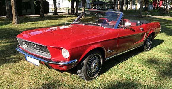 Fahrzeug 2 Mustang-1968 in München: Bild 5 in der Bilderstrecke: Seitenansicht 3