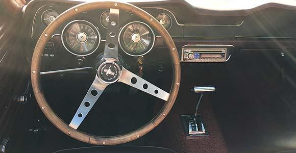 Fahrzeug 2 Mustang-1968: Bild 1 in der Bilderstrecke: Innenraum