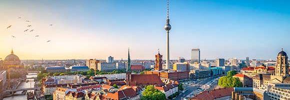 Panorama Berlin und Fernsehturm