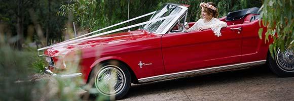 Geburtstagsgeschenk Mustang fahren