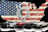 Mustang mieten Geschenkgutschein Logo Footer