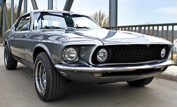 Mustang GT 1969 Coupé Bild 1
