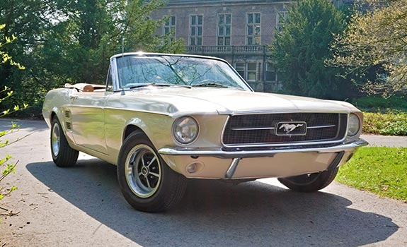 Mustang GT Cabrio 1967 Bild 1