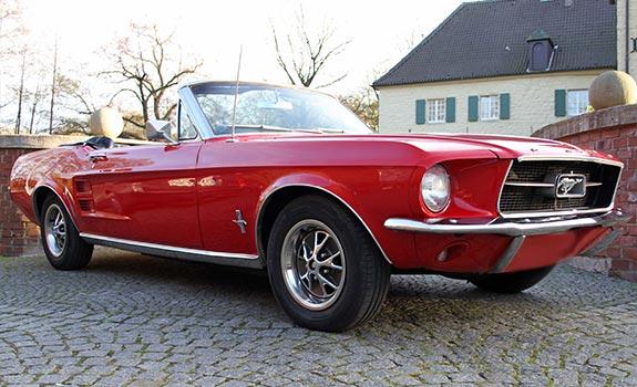 Mustang GT Cabrio 1967 Bild 2