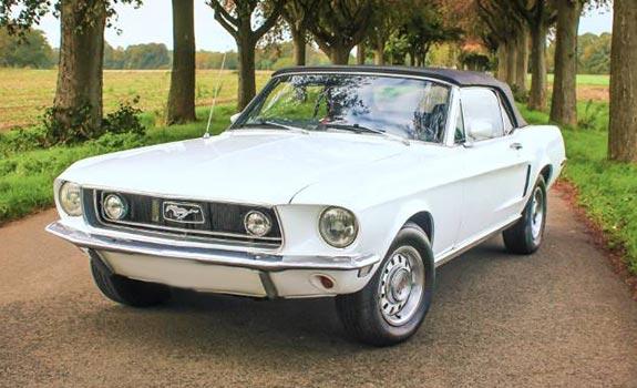 Mustang V8 1969 Cabrio Bild 1
