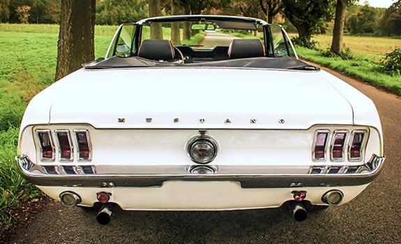 Mustang V8 1969 Cabrio Bild 2